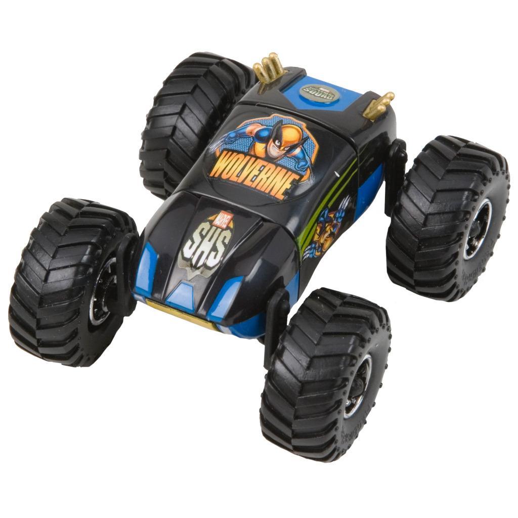Marvel Regener8r 1:64 Scale Wolverine Toy Car