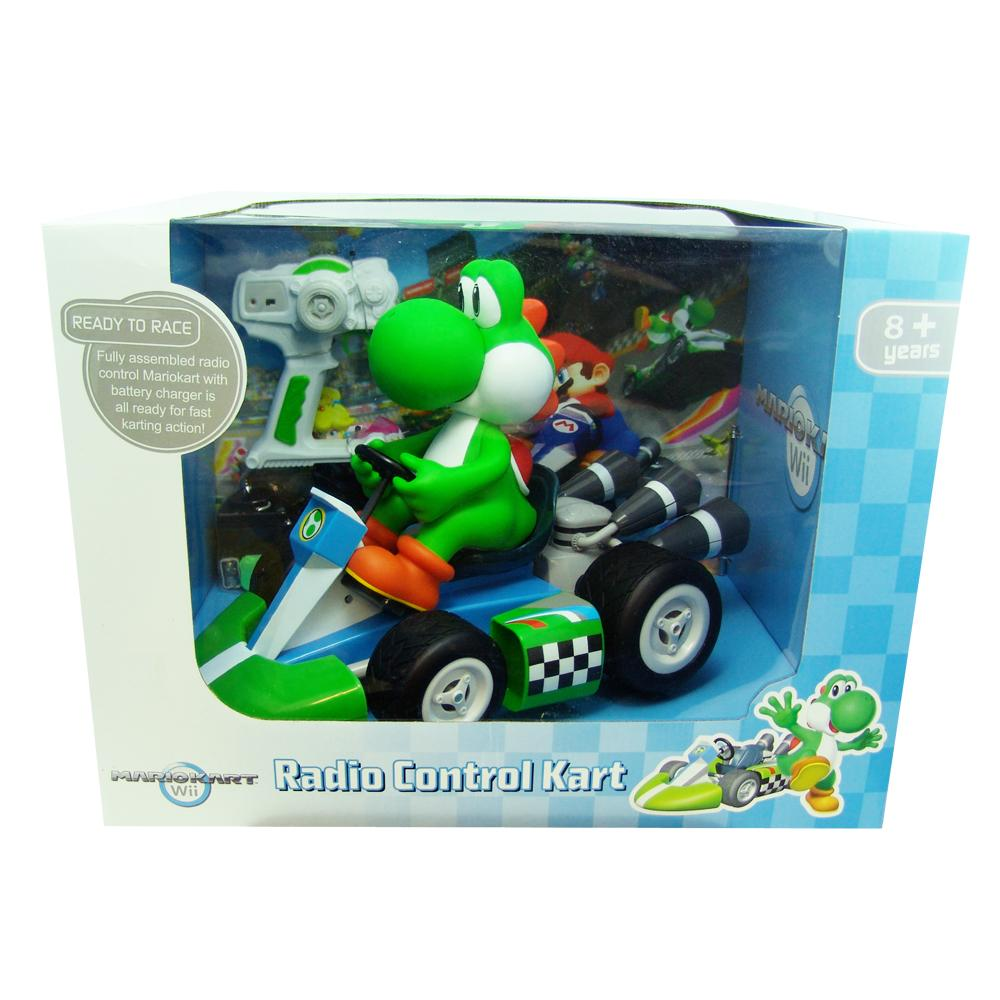Super Mario Brothers 1:8 Scale Remote Control Yoshi Kart Toy