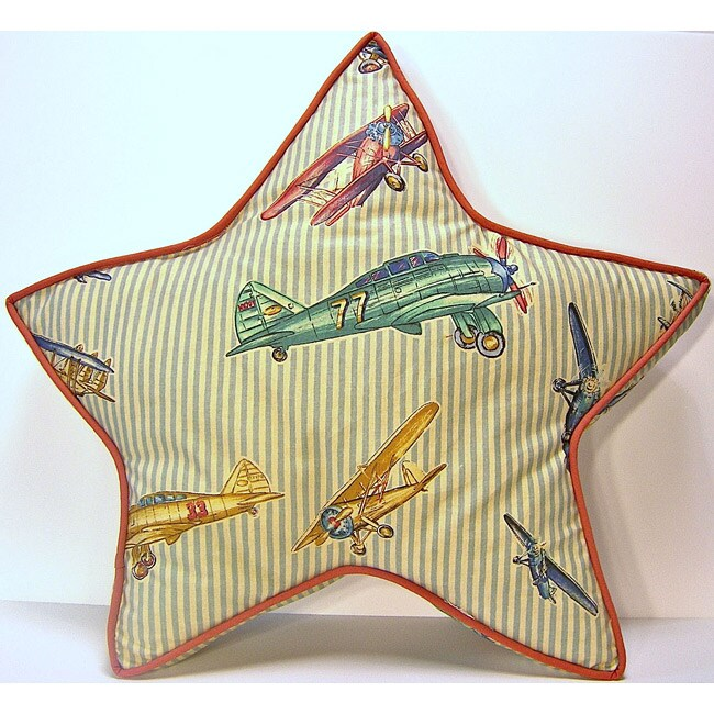 Star Airshow Decorative Pillow