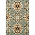 Chime Blue/ Multi Rug (5'3 x 7'7)