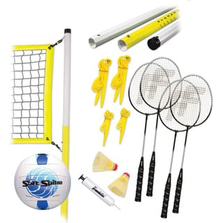 Franklin Advanced Badminton and Volleyball Combo Set