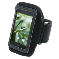 Deluxe Black ArmBand for Apple iPod touch 2nd/ 3rd Generation