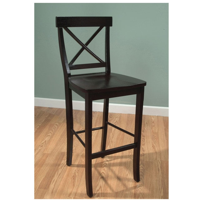 Simple Living Easton 24 Inch Crossback Stool 13729950
