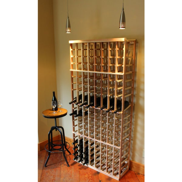 Redwood 6-foot 136-bottle Wine Rack