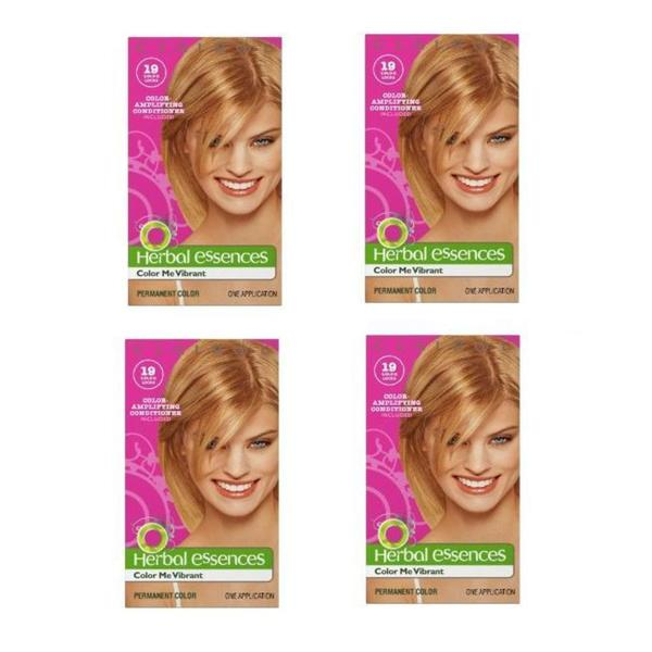 Herbal Essences #19 Medium Golden Blonde Haircolor (Pack of 4)
