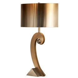 Nova Lighting 'Swooshball' BronzeTable Lamp