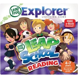 LeapFrog Explorer Game Cartridge: LeapSchool Reading