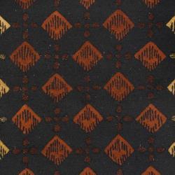 Safavieh Handmade Diamonds Black Wool Rug (5' x 8')