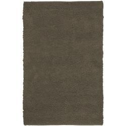 Hand-woven Washington Wool Rug (8' x 10'6)