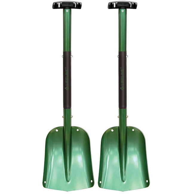 Green Sport Utility High-quality-aluminum Shovels (Pack of Two)