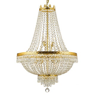 Empire Crystal 9-light Chandelier