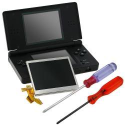 INSTEN 2-piece Top LCD Screen/ Screwdrivers for Nintendo DS Lite
