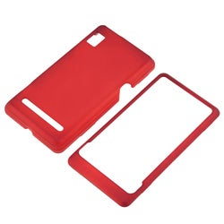 4-piece Rubber Coated Case Set for Motorola Droid 2 A955