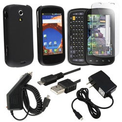 5-piece Case/ Screen Protector/ Charger for Samsung Epic 4G