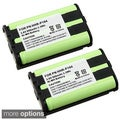 Ni-MH Cordless Phone Battery for Panasonic HHR-P104 (Pack of 2)