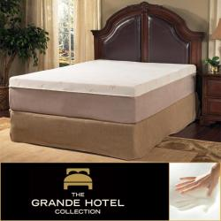 Sale Grande Hotel Collection Posture Support 8 Inch King Size Memory Foam Mattress Review Lu123