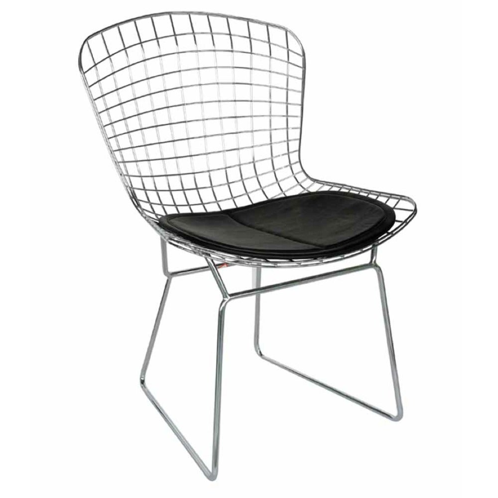 Wire Side Chair Set Of 4 13731747 Overstock Com