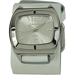 Nemesis Retro White Cuff Watch