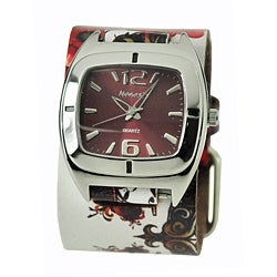 Nemesis Tattoo-inspired Leather Watch
