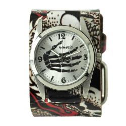 Nemesis Tattoo-Inspired Leather Strap Watch