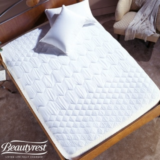 Simmons Pima Cotton Trizone Twin/ Full-size Mattress Pad
