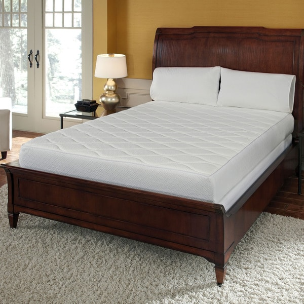 Quilted Top 10-inch California King-size Memory Foam Mattress
