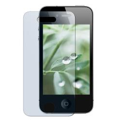 Clear Smoke TPU Case/ Screen Protector for Apple iPhone 4