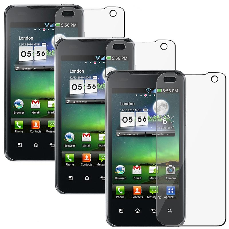 Screen Protector for LG G2X (Pack of 3)