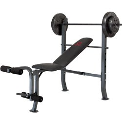 Marcy Olympic with 80-pound Weight Set Workout Bench