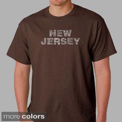Los Angeles Pop Art Men's Cotton New Jersey T-shirt