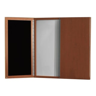 Mayline Aberdeen Visual Presentation Board with Sculpted Tray