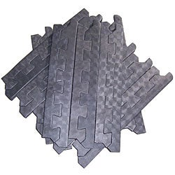 Rubber Cal S Shark Tooth Heavy Duty Mats 3 4 Inch Thick