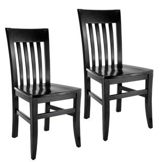 Jacob Slat-back Side Chairs (Set of 2)
