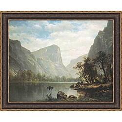 Albert Bierstadt 'Mirror Lake Yosemite Valley' Framed Print Art