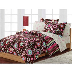 Gypsy 5-piece Twin-size Bed in a Bag with Sheet Set
