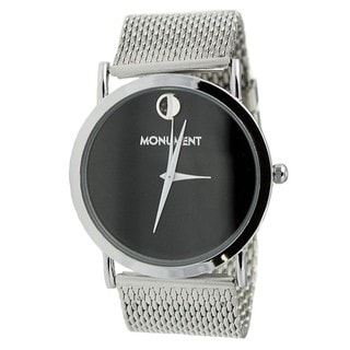 Monument Men's Mesh Analog Watch