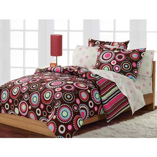 Gypsy 7-piece Queen-size Bed in a Bag with Sheet Set