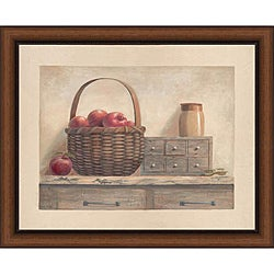 Vivian Flasch 'Country Living I' Framed Print Art