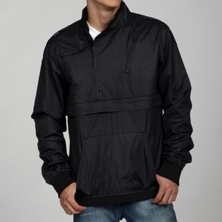 ZAK Men's Asymmetrical Zipper Pull-over Windbreaker
