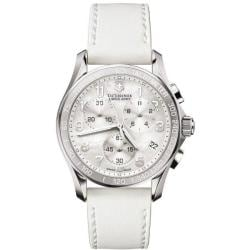 Victorinox Swiss Army Women's 'Chrono Classic' White Mother of Pearl Dial