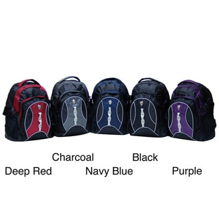 CalPak Highway99 18-inch Deluxe Backpack With Laptop Compartment