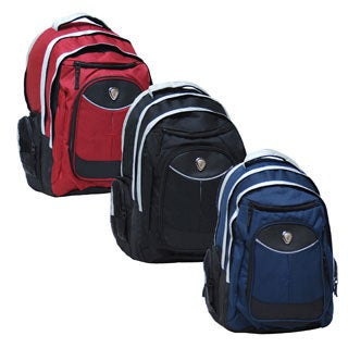 CalPak Big Shot 19-inch Ripstop-nylon/Polyester Deluxe Laptop Backpack