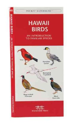 Hawaii Birds: A Folding Pocket Guide to Familiar Species (Paperback)