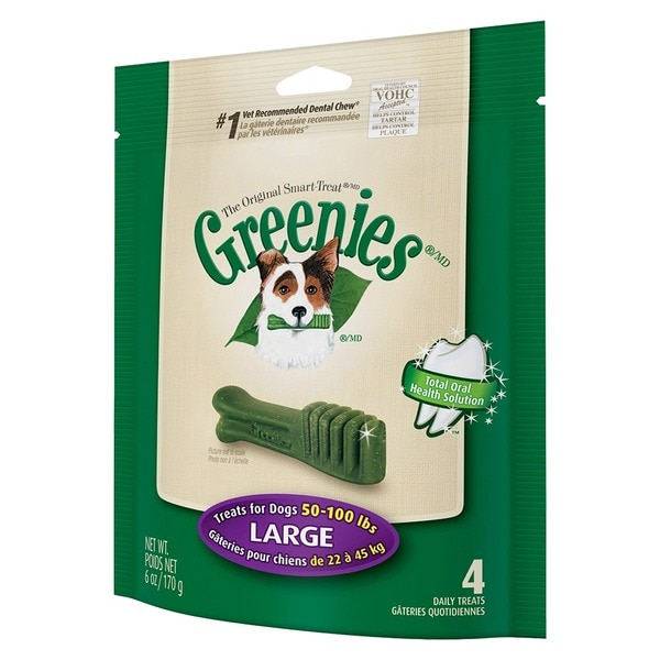 Greenies 011-20127 Green Greenies Mini Treat-Pak