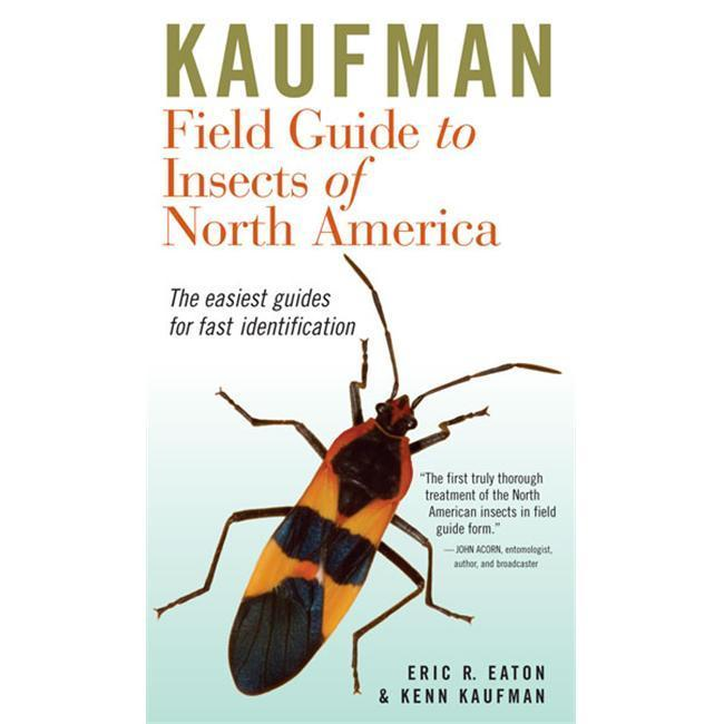 Peterson Books Kaufman FG to Insects of N.A. Book