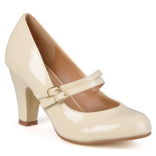 Journee Collection Women's 'WENDY-09' Patent Mary Jane Pumps