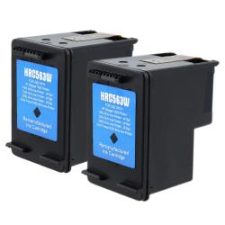 2-pack HP 61XL (CH563WN) Black Ink Cartridge (Remanufactured)