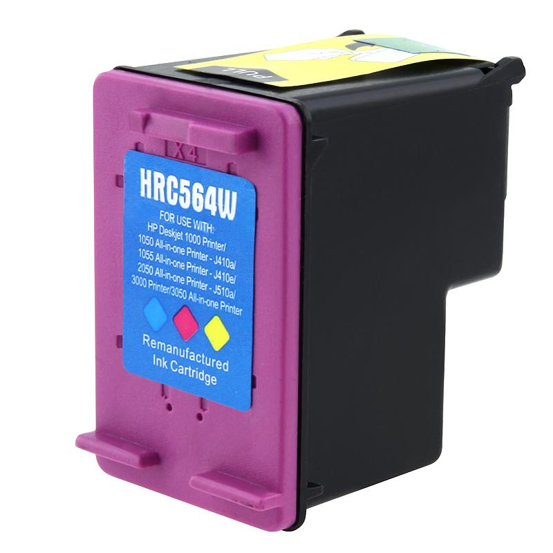 INSTEN HP 61XL (CH564WN) Color Ink Cartridge (Remanufactured)