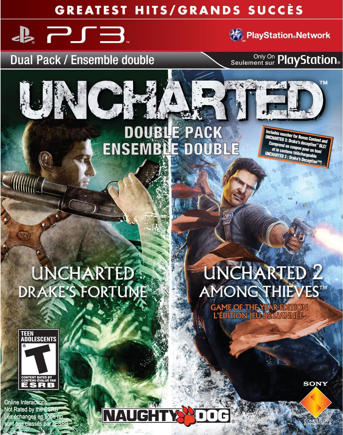PS3 - Uncharted 1 & 2 Pak