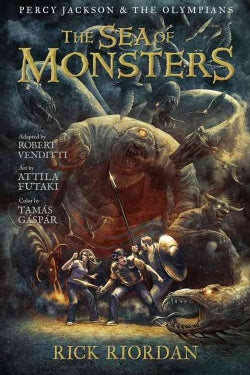Percy Jackson and the Olympians 2: The Sea of Monsters (Paperback)